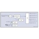 Cobalt Digital BBG-DA-12G-1x6 12G - 3G HD-SD-SDI ASI MADI Reclocking Distribution Amplifier w/ Input Status LED & PS4