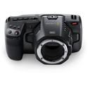 Blackmagic Pocket Cinema Camera 6K - CINECAMPOCHDEF6K with Super 35 Size Sensor - Li-Ion - EF Mount (no lens)