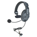Clear-Com CC-15-MD4 Single-Ear/Noise-Cancelling Headset with Mini DIN Connector for DX Series Wireless Intercom