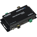 Camplex CMX-HDMI-SFP Single Fiber SFP 4K HDMI 2.0 Extender with Bidirectional IR RS-232 and SFPs included