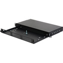 Camplex CMX-MPR-1RUE 1RU Economy Fiber Optic Panel for 19 Inch Rack Holds up to 3 Modules