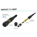 Camplex CMX-OCMTPM24-050 OpticalCON MTP/MTP Multimode 24 Fiber Field Cable  - 50 Meters