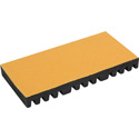 Camplex CMX-SPTR-12 12 Position Fiber Plastic Splice Board with Peel and Stick Backing