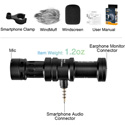 Comica CVM-VS08 Directional Shotgun Microphone for Smartphones