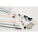 Sanken COS-11DPT Pigtail Miniature Electret Lavalier Mic (White)