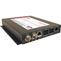 Artel FiberLink 3395-B7S Bidirectional 3G-HD/Audio/Ethernet/Data Singlemode 1 Fiber Box with ST Connectors - Tranceiver