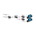 Artel FiberLink 8201-BS7 3G/HD/SD-SDI 1310nm ST Fiber Optic Distribution Amplifier 1 Output