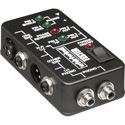 Whirlwind Tester Battery Powered Pro Audio Cable Tester with XLR - 1/4inch - RCA  Connections