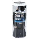 Cable Tie Mega Jar 650 Piece Black