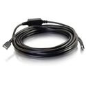 32ft USB A Male to A Female Active Extension Cable - Plenum CMP-Rated