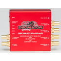 Decimator QUAD 3G/HD/SD QUAD-SPLIT w/ CVBS and SD-SDI Outputs B-Stock (refurb no box insert)
