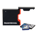 Delkin DDREADER-44 USB 3.0 Dual Slot SD UHS-II & CF Memory Card Reader