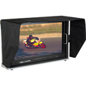 Delvcam DELV-4KSDI24 4K UHD HDMI 3G-SDI Quad View Broadcast LCD Monitor Mounted in Rugged Carrying Case - 24 inch