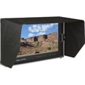 Delvcam DELV-4KSDI28 4K UHD HDMI 3G-SDI Quad View Broadcast LCD Monitor Mounted in Rugged Carrying Case - 28 inch