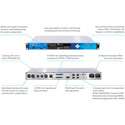 Digigram IQOYA X/LINK ST 1U Stereo IP Audio Codec - 2x I/O Channels/2x Mono Analog/1x AES/EBU AES67/Ravenna/Livewire
