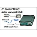 DNF EB-42-RHA IP Control Buddy 2 Ethernet with 4 GPI I/O & Serial Port - Horizontal Mount for 1RU Panels