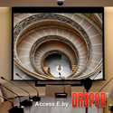 Draper 104303L Access/Series E 94 Inch Matte White Screen w/Low Voltage Control