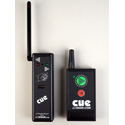 DSan PC-MICRO Ultra Compact Cue Light with 2-Button Wireless Actuator (2-Commands)