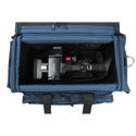 Porta Brace DVO-2 Digital Video Organizer Case with Universal Cradle Blue