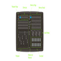 Elation MID534 MidiCon Professional USB Powered Midi Software Compatible Controller