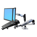 Ergotron 45-248-026 LX Dual Stacking Arm - Mounting Kit