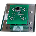 ETS PA202MRJWP InstaSnake Wall Plate with 4 Male XLR to RJ45 Inputs
