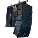 EV XLE191 BLACK Three-way Compact Line Array Element