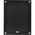 FSR FL-1200 Floor Box (Black Sandtex)