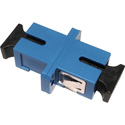 SC to SC Fiber Optic Coupler with Plastic Body & Bronze Alignment Sleeve