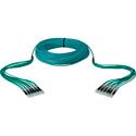Camplex 12-Channel LC-LC OM3 Multimode Plenum Fiber Optic Cable 100 Foot