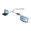 Hall Research EMX-DVI Single - Dual Link DVI Extender w/ EDID Mgmt