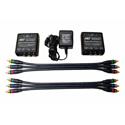 Hall Research UVB1-CP Component Video Active Balun Extension Kit for SD/HDTV