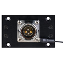 Camplex HYMOD-1R06 SMPTE EDW Jack to 2 ST Fiber & 6-Pin AMP for 1RU HYMOD Systems