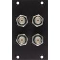 Camplex HYMOD-2R09 4 BNC Feedthru Module for 2RU HYMOD Systems