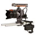 ikan BMPCC-PWR-2RD-E6 Blackmagic Pocket Cinema Camera Dual Rod DV Power Kit for Canon E6