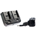 Ikan DV-DUAL-S750 DV Camera Battery Kit w/ 2 Sony NP-F750 5800mah Replacement Lithium Batteries and Dual Battery Charger