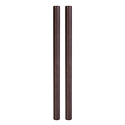 ikan ELE-P-15CR10 Elements Plus 15mm Carbon Fiber Rods - 10 Inch