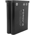 PDMOVIE PD-LI42B-X2 Replacement LI-42B Dual Battery for Remote Air Pro 3 and Remote Air 4