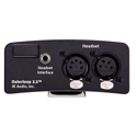 JK Audio Outerloop 3.5 Universal Intercom Beltpack for  5 Pin or 4 Pin Male XLR Headsets
