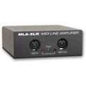 JLCooper MLA-XLR MIDI Line Amplifier Over Balanced Audio Cables