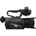 JVC GY-HM250U 4KCAM Camcorder with Streaming Host USB and AC Power Supply
