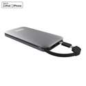 Kanex K168-1111-SG GoPower Rechargeable Li-ion Battery - Space Grey 8000mAh