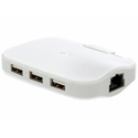 Kanex USB3GBIT3X USB 3.0 Gigabit Ethernet Adapter & 3-Port USB 3.0 Hub