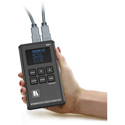 Kramer 861 Handheld Battery Operated 4K Video Generator/Analyzer - Rechargeable Li-ion Battery