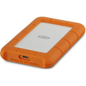LaCie STFR2000403 Rugged Secure USB 3.1 Type-C Portable Hard Drive with Rescue