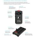 Listen Technologies LK-1 ListenTALK Assistive Listening & Intercom Transceiver - Rechargeable Li-ion Battery