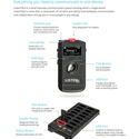 Listen Technologies LKS-2 ListenTALK 8-Person Assistive Listening & Intercom System