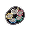 Liberty RGB5C-PLN Plenum Cable 1000ft Roll 5 X 26 MHR CL2P - Black