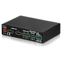Luxi SHD-310SM VGA/HDMI/DP/Audio 3x2 Switcher with Scaler - Optional 12V Power Adapter Not Included