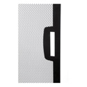 Middle Atlantic CLVRD-WMRK-42 42SP LG Perf Split Rear Door - Black